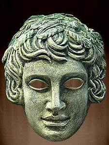 RG - Greek masks were classically used to bring the actors ...