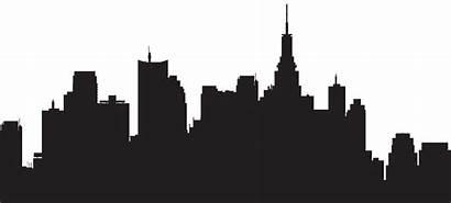 Skyline York Silhouette Clip Clipart Transparent Library