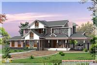dream home designs 3 Kerala style dream home elevations - Kerala home design ...