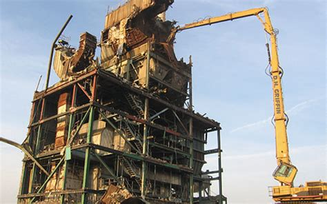 structural demolition projects ecusta paper plant