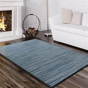 Teppich Modern Wohnzimmer : teppich wohnzimmer gestreift t rkis design teppiche ~ Lizthompson.info Haus und Dekorationen