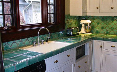 Tile Countertop by Stylish And Affordable Kitchen Countertop Solutions