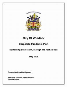 Planning for pandemic flu for Pandemic preparedness plan template