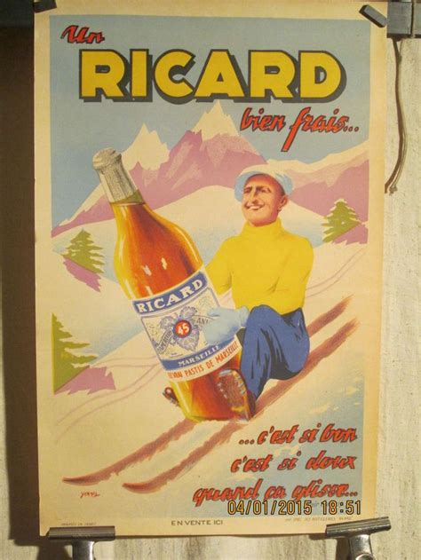 affiche vintage cuisine 1000 images about ricard on