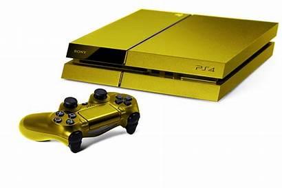 Ps4 Gold Orange Cheats Trim Console Colors
