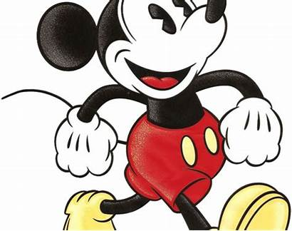 Mickey Fashioned Clipart Mouse Transparent Disney Webstockreview