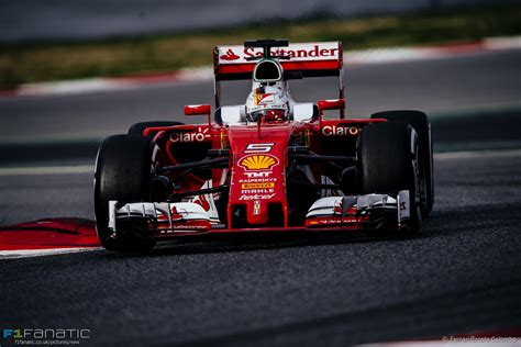 Sebastian vettel has warned against writing ferrari off in their battle for f1 supremacy with mercedes, despite their season suffering more setbacks at the russian gp. Sebastian Vettel, Ferrari, Circuit de Catalunya, 2016 · RaceFans