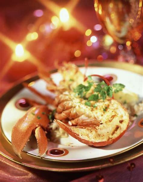 mytf1 recettes cuisine recette de noël homard grillé de noël cuisine