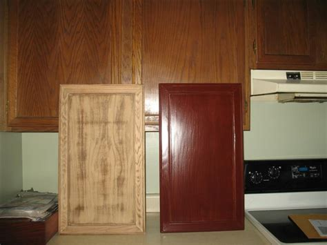 restaining kitchen cabinets darker refinishing oak kitchen cabinets before and after wow 4774