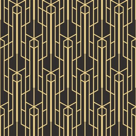 wall photo gallery template black gold deco deco wallpaper patterns
