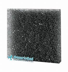 Plaque De Mousse : mousse filtrante noire maille large 50 50 3cm ~ Farleysfitness.com Idées de Décoration
