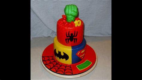 Superhero  Ee  Birthday Ee   Cake Youtube