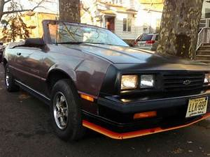 Sell Used 1987 Chevrolet Cavalier Rs Convertible 2