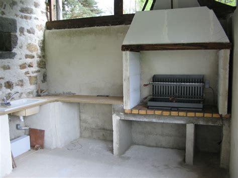 cuisine d ete en beton cellulaire