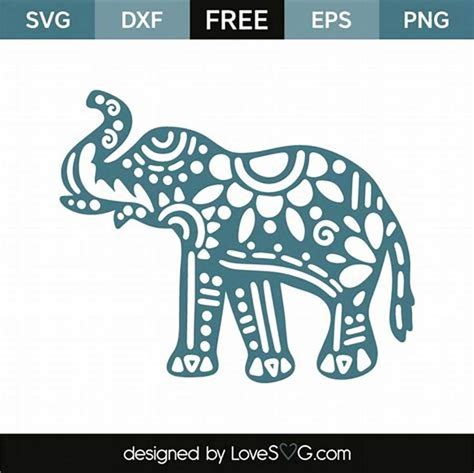 All contents are released under creative commons cc0. See the source image   Cricut elephant, Elephant stencil ...