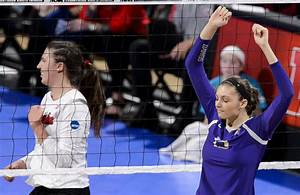 Photos: NCAA volleyball, Huskers breeze past Washington ...