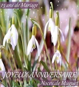 Noce De Muguet 13 Ans De Mariage Noces De Muguet Cartes