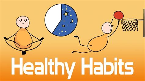 10 Habits Of Healthy People  How To Live Longer Youtube