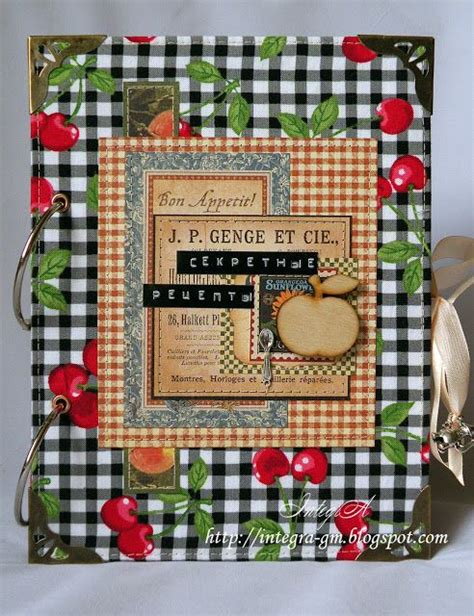 scrapbooking cuisine 17 best images about recipe scrapbooking on
