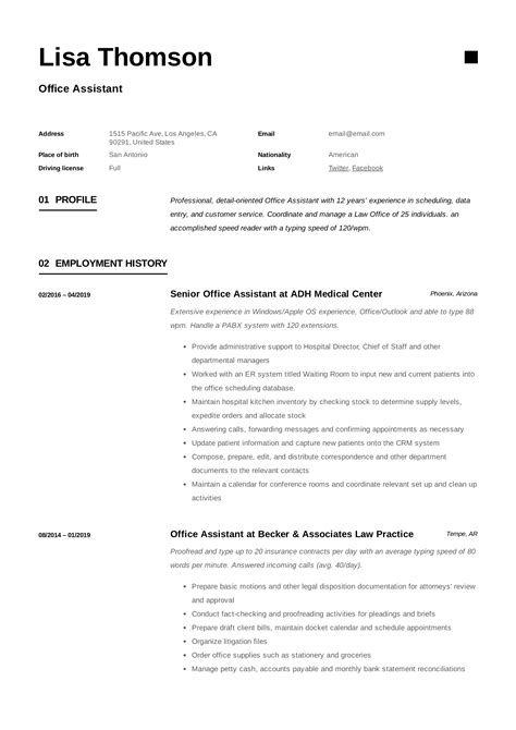 Assisted teachers with smaller class sizes. Office Assistant Resume + Writing Guide | 12 Resume TEMPLATES | 2019