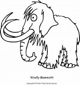 Color A Woolly Mammoth A Print U0026 Color Page From Childu002639s
