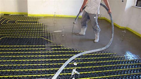 tipi di riscaldamento a pavimento impianti di riscaldamento a pavimento quale massetto