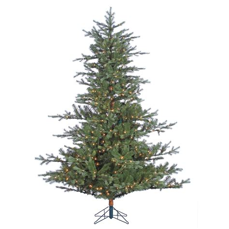 donner and blitzen tree donner blitzen incorporated 7 5 pre lit spruce tree with 650 clear lights shop your
