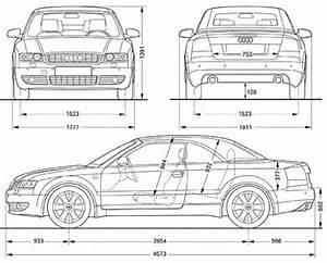 Dimension Audi A4 : the blueprints cars audi audi a4 cabrio ~ Medecine-chirurgie-esthetiques.com Avis de Voitures