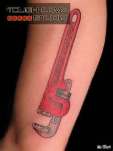 Pipe Wrench Tattoo