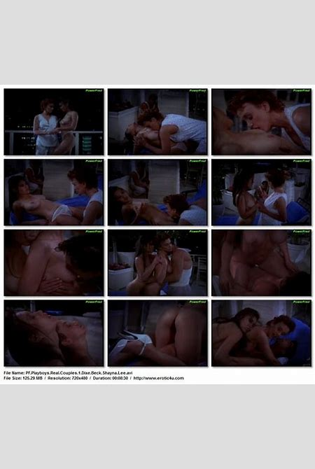 """Dixie Beck nude in """"Playboy Real Couples: Sex in Dangerous Places"""" (1995) - Preview"""