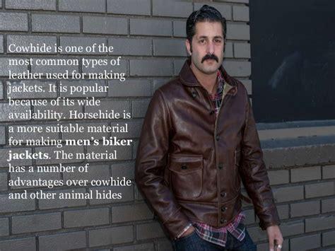 Why Horsehide Is Good For Men's Biker Jackets