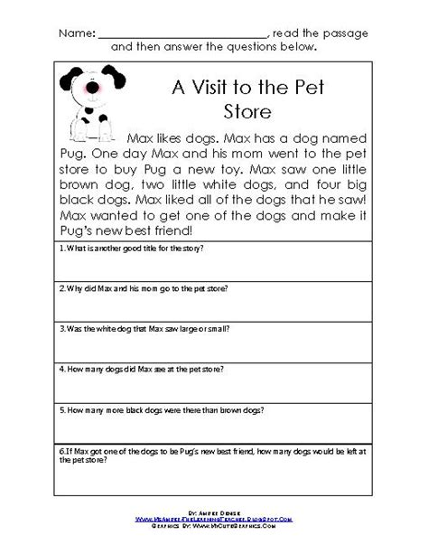 reading and comprehension worksheets for grade 1 16 best images of reading comprehension worksheets grade 1