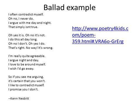 exle of a ballad images resume cover letter exles