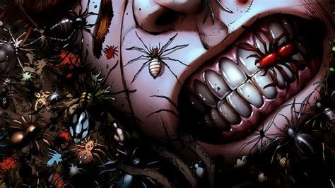 Creepy Anime Wallpaper - grimm tales comics anime horror insects spider