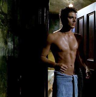 shirtless gazing jensen ackles