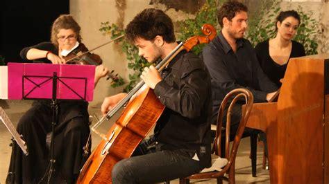Brahms Klaviertrio/ Piano Trio, Op. 87, Colluvio Chamber