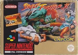 Street Fighter Ii Box Shot For Super Nintendo