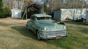 48 Chrysler Windsor Restored Except Engine And Trans For