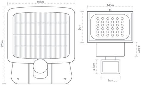 evo36 solar security light