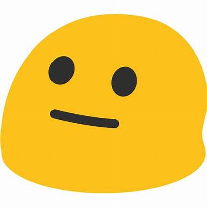 Emoji Neutral Face Emojis Android Google Yahoo