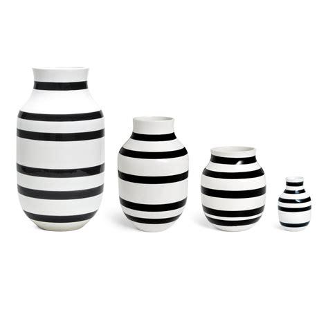 Vase Schwarz Weiß by Omaggio Vase H 12 5 Cm K 228 Hler Design Connox