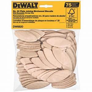 DeWalt DW6820 Joining Biscuits Size 20