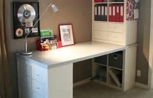 ikea etagere bureau utilisez des étagères kallax pour tout ranger bureau
