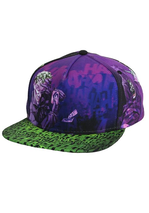 dc joker   print trucker hat