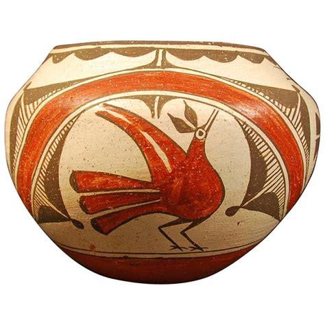 Early 20th Century Zia Pueblo Indian Tribal Pot Zia Pueblo Mexico