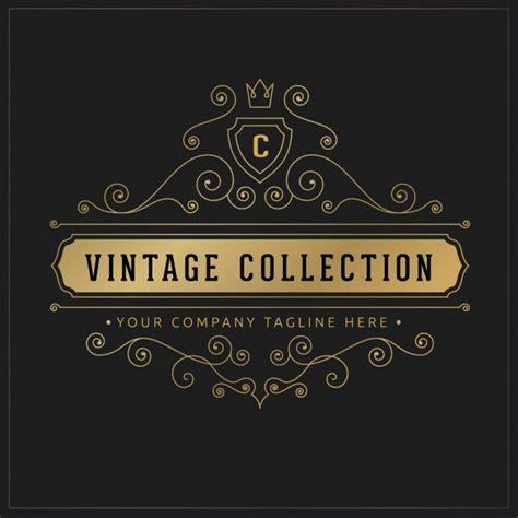 free editable logo templates vintage logo template vector free