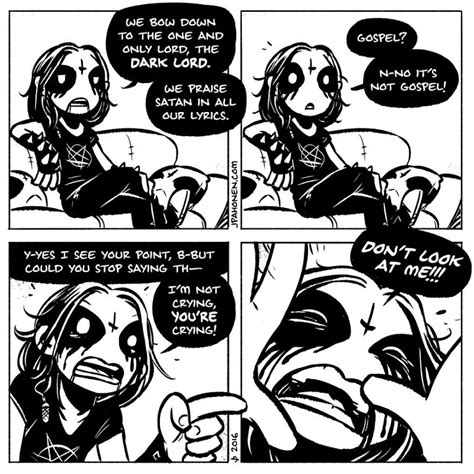 everyday life   metalhead couple   adorable comics