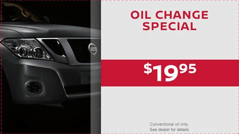 Great Neck Nissan Service by Get Special Pricing And Coupons For Service At Great Neck