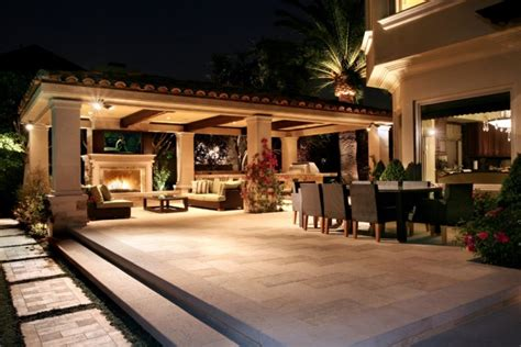 luxury  classy mediterranean patio designs