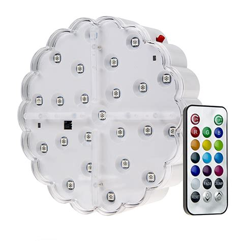 battery operated led lights with remote led centerpiece light 6 quot rechargeable battery powered